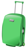 Green_Suitcase_PNG_Clipart